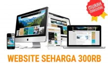 harga website 300rb
